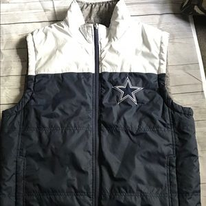 watch f166c ae55d Dallas cowboys reversible vest